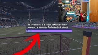 SE ME DESCONECTAN LOS SERVERS DE FIFA 21 EN DIRECTO