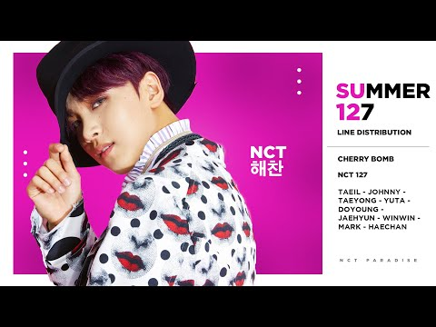 NCT 127 - Summer 127 (Line Distribution)