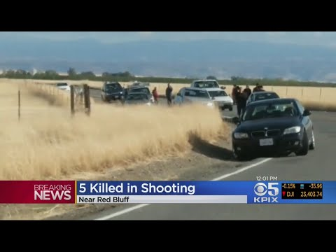 At Least Five Dead In Tehama County Shooting Rampage