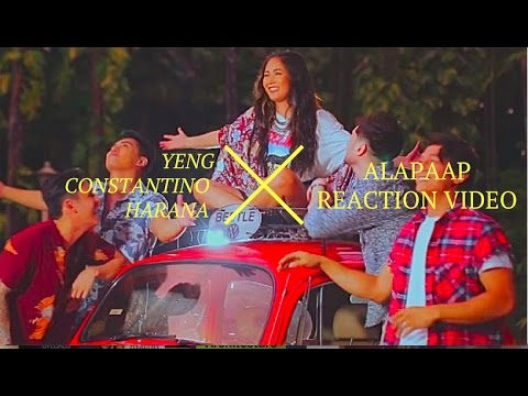 YENG CONSTANTINO AND HARANA: ALAPAAP MUSIC VIDEO REACTION (DEAR OTHER SELF MOVIE THEMESONG)