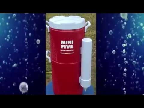 ATMOSPHERIC WATER GENERATOR - AMAZING!!! DRINK WATER FROM AIR