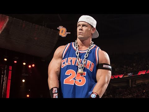 John Cena raps -- Raw, March 12, 2012