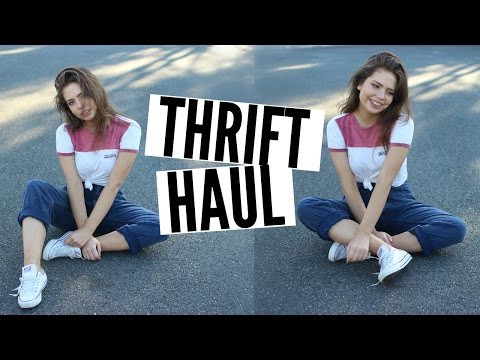Vintage Thrift Haul & Lookbook 2015