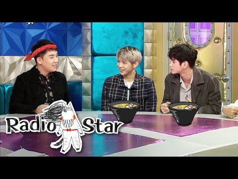 Seung Ri Asked For A Meeting With 'Wanna One' Without The Managers [Radio Star Ep 560]