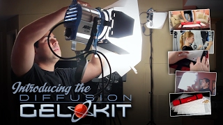 Digital Juice Diffusion Gel Kit: Photo Video Light Diffusion