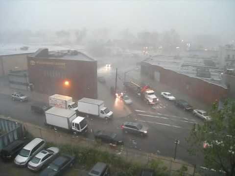 Severe Weather Possible Tornado in Brooklyn 9/16/10