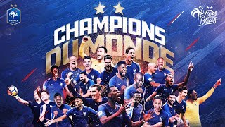 Coupe du monde 2018 - FRANCE CHAMPION DU MONDE - Le film HD