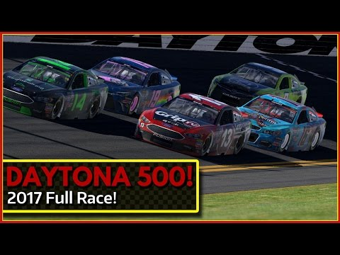 2017 Daytona 500 iRacing