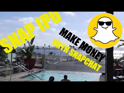 My Views On The SNAP IPO & How To Make Money Off SnapChat & Social Media Marketing
