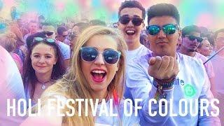 Holi Festival Of Colours 2015 LONDON   Ellesse Vlogs