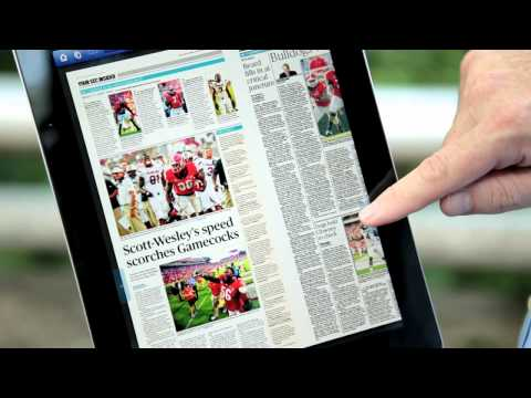 The Atlanta Journal-Constitution delivers to Athens