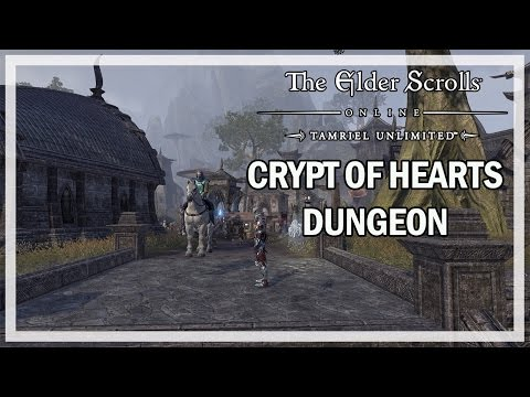 The Elder Scrolls Online - Crypt of Hearts Dungeon - Let's Play Gameplay
