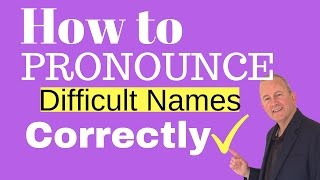 Download lagu How to Pronounce Difficult Names Correctly in Voice Overs MP3