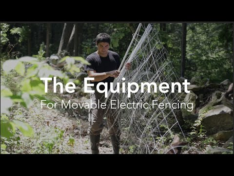 What Equipment Do You Need For Moveable Electric Fencing?