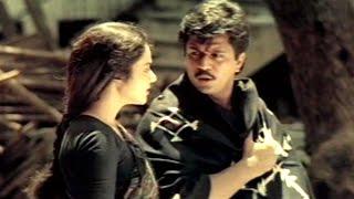 Gentleman Movie || Arjun Telling His Flashback Scene || Arjun, Madhubala