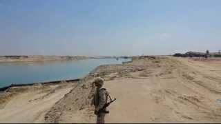 قناة السويس الجديدة 22مارس 2015 تحت حراسة الجيش
