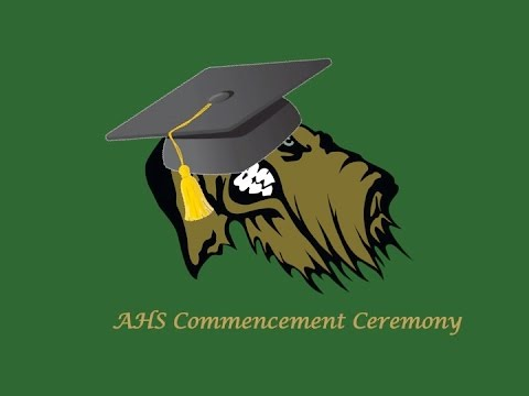 Alma High School Class of  2017 Commencement