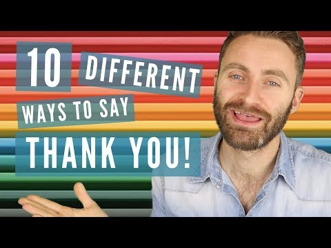 10 Different Ways to Say 'THANK YOU' in English Mp3