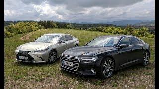 Добре облечени бизнесмени: Audi A6 срещу Lexus ES