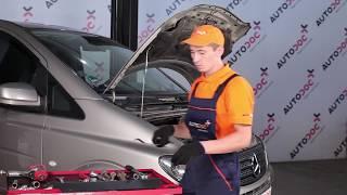 Jak wymienić Amortyzatory MERCEDES-BENZ VITO Bus (W639) - darmowe wideo online