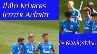 Thilo Kehrer, der letzte Auftritt für Schalke 04 am 12.08.2018