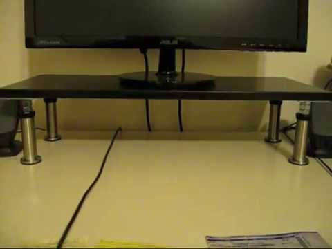 ikea monitor stand part 2 adjusting capita leg height. Black Bedroom Furniture Sets. Home Design Ideas