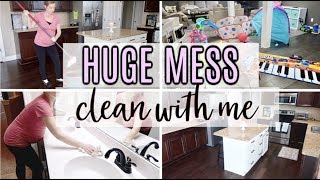 *HUGE MESS! * l BIG ULTIMATE CLEAN WITH ME 2019 | EXTREME CLEANING MOTIVATION