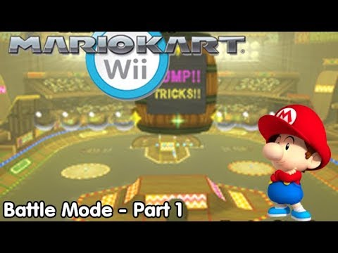 Slim Plays Mario Kart Wii - Battle Mode: Part 1/2