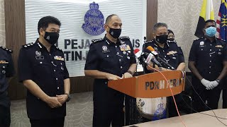 Pegawai, anggota polis ditahan dalam serbuan dadah