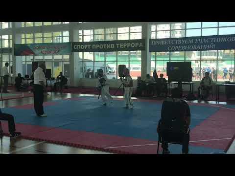 Первенство Дагестана юноши (2005-2007г) Абдулаев Ислам & Магомедов Хаджи-Мурат 33 кг.
