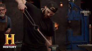 Forged in Fire: Spring Steel Challenge (Season 5, Episode 13) | History