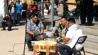 Santa Fe Indigenous Day Commemoration 2018 - Sun Hill Drums