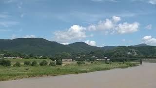 20210719 JR四国 予讃線 大洲 肱川橋梁 宇和海17号 アンパンマン列車 A