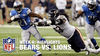 Bears vs. Lions | Week 6 Highlights | NFL