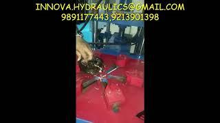 Compressor cutting machine