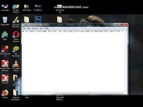 Blur-save game [Download Link In description]