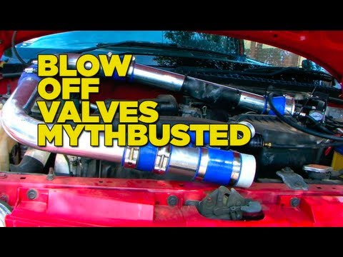 Blow Off Valves Mythbusted
