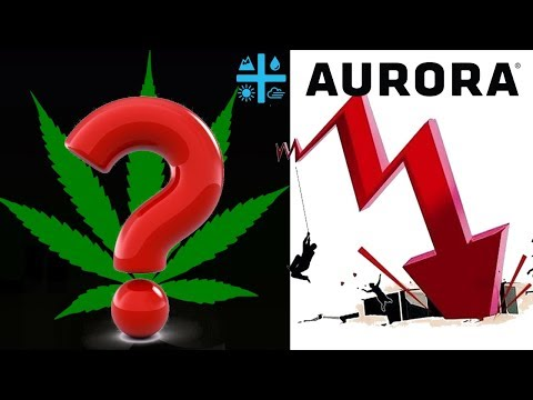 Why is aurora Crashing ? What Will Happen With Aurora cannabis ACB stocks after NYSE?  Red Day 📉