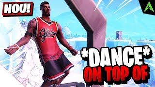 Dance on Top of a Water Tower, Ranger Tower, Air Traffic Control Tower - LOCATIA *WEEK 5* FORTNITE!