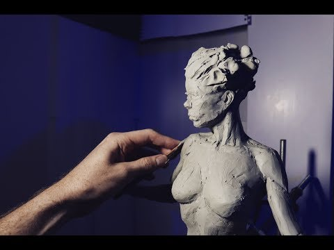Sculpting The Body Female In Roma Clay