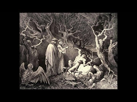 Dante's Inferno Canto 13 discussed (the Suicides)