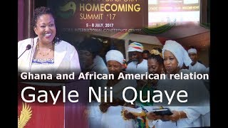 Ghana and the African American relation, Gayle Nii Quaye