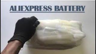 Unboxing Aliexpress Battery 36V10AH