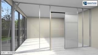 Saf Inside - Complete Pocket Door Sliding System