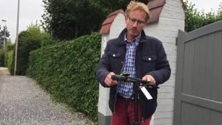 Trottinette électrique Egret EIGHT - Premier essai