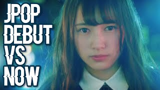JPOP: DEBUT VS NOW