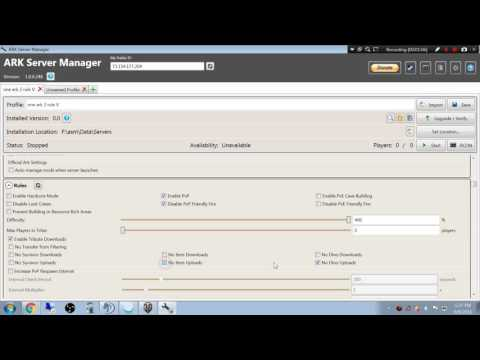 Setting up linked cluster servers with ASM - YouTube