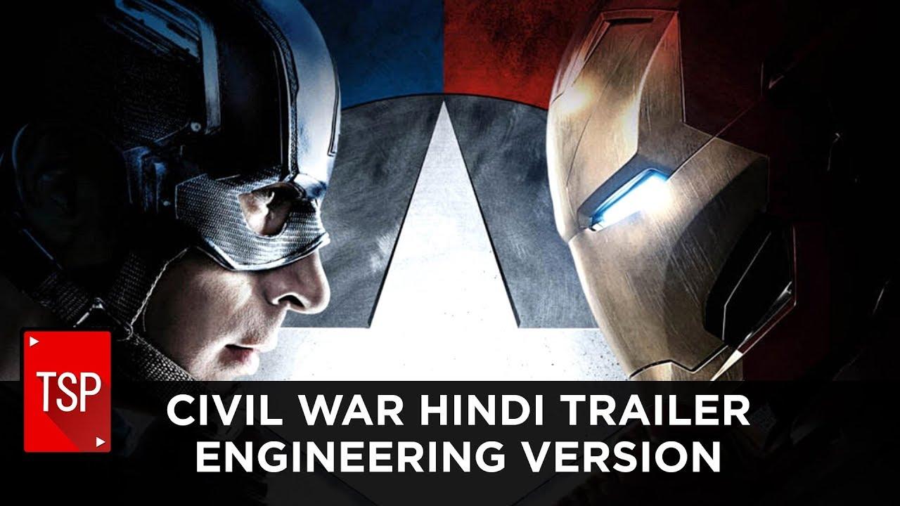 Download Civil War Hindi Trailer || Engineering Version | TSP Fukrapanti DumbSmash Ep. 3