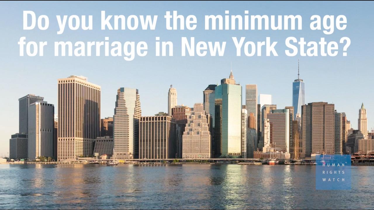 Loi d'âge pour la datation à New York