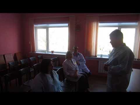 Олег Ярошенко  о поставке нового медоборудования в ГБ-1  Братска